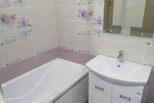Ремонт ванной и туалета «под ключ», ул. Николаева