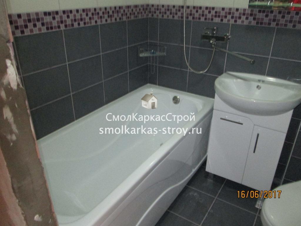 Ремонт ванной комнаты Миловидово