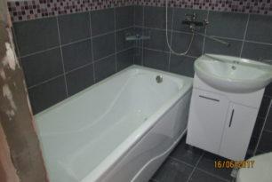 Ремонт ванной комнаты, пос. Миловидово